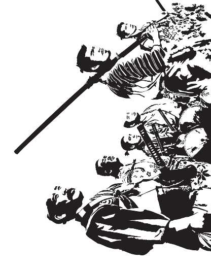 Seven Samurai - Akira Kurosawa Classic Film from the Everything collection by Dropkickers