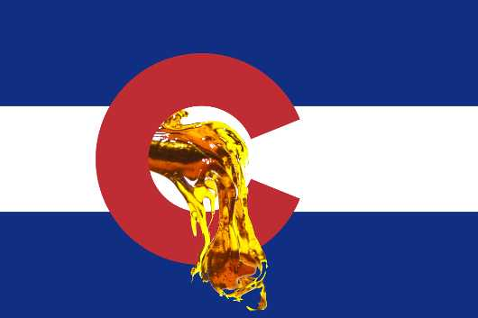 Colorado Dab Flag from the Real Leaf 420 710 Cannabis Seed, Leaf, Concentrate collection by Natural Colorado Beauty