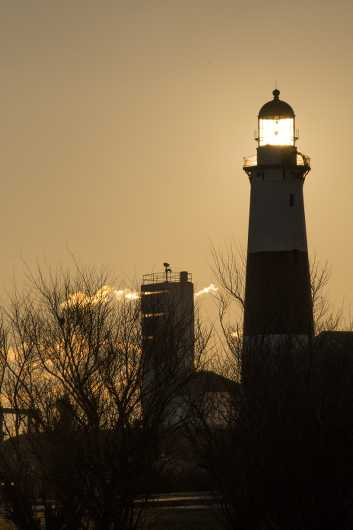 Montauk6 from the Montauk Lighthouse  collection by Chris Priedemann
