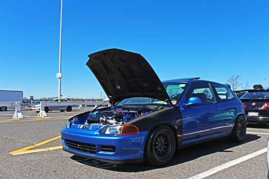 Blue EG Hatch Carbon from the HDAY Spring 2017 collection by Ryan Keiser