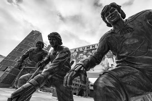 Sabres Statue BW from the Gallery Selection: July 2016 collection by clear. photography