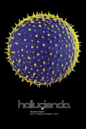 Hacienda Hallucienda Poster from the Astropixel NYC collection by MyHouseCulture.com