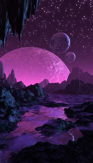 Amethyst Twilight from the Alien Landscapes collection by UnCommonTom