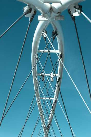 Bridge wires from the Architecture collection by Rachel Houghton