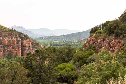 Uptown Sedona View from the Landscapes collection by Rachel Houghton