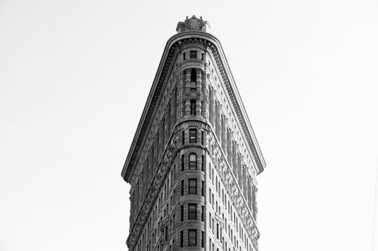 New York City Flat Iron Building Poster from the Astropixel NYC collection by MyHouseCulture.com