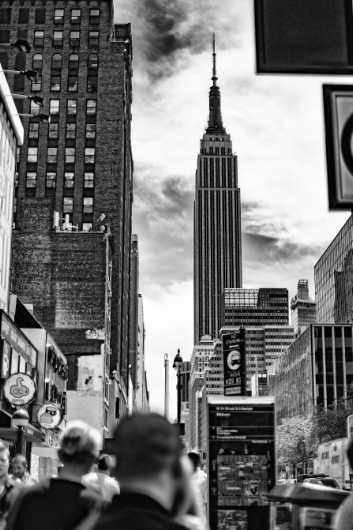 Empire State Building from the New York City collection by Cara Walton