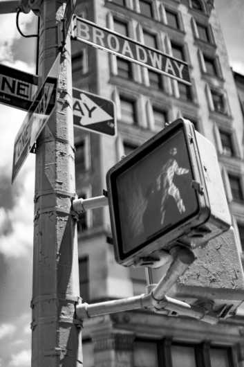 Crossing Broadway from the New York City collection by Cara Walton