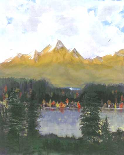 echo_of_loons from the Prints for Purchase collection by Don Duncan