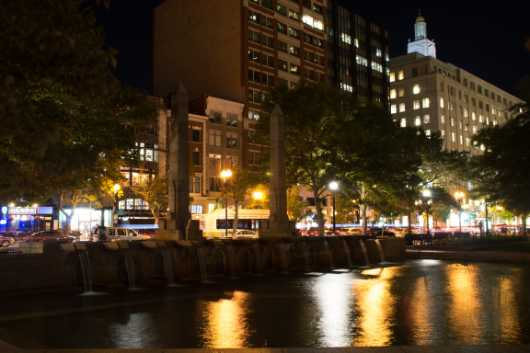 Boston Nights from the Landscapes collection by Coty Montroy