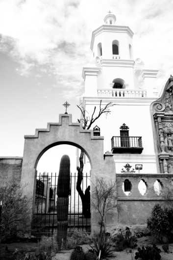 San Xavier I from the Desert Life collection by Coty Montroy