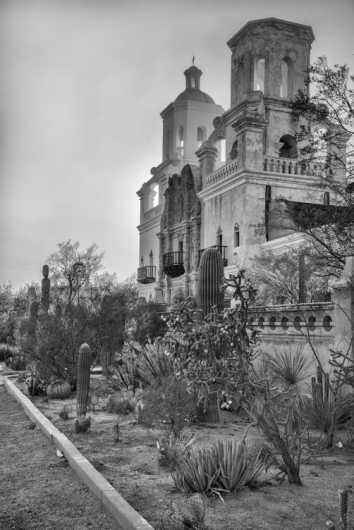 San Xavier II from the Landscapes collection by Coty Montroy