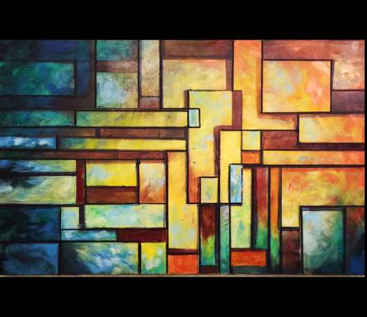 juxtapose6400x5525.jpg from the Hibbler-Art.com Modern/Abstract Collection collection by Annette Hibbler