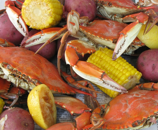 Crab Boil from the Gulf Coast Life collection by B.E. Lavigne