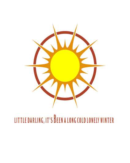 Here Comes The Sun | Beatles Inspired Art Print from the Lyric Art Prints collection by Lyrical Perceptions