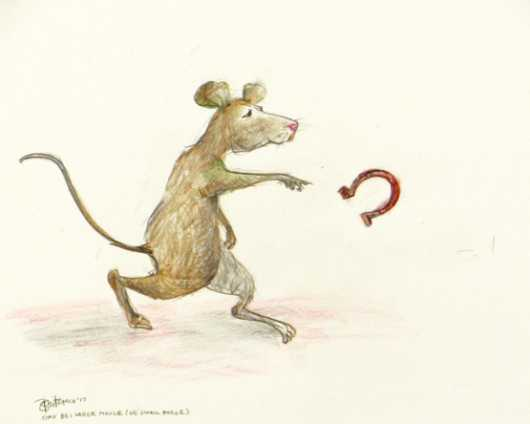 Large Mouse or Small Horse? from the Nurture Absurdity collection by Brita DeRemee Taracks