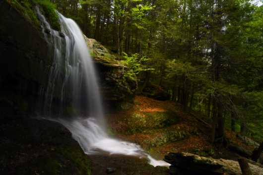 North Point Hiking Waterfall from the Chris Priedemann Photography collection by Chris Priedemann