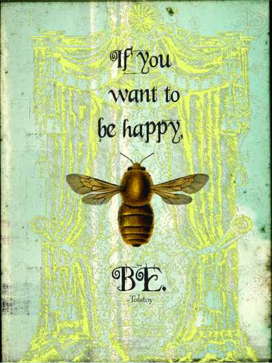 Bee Happy from the Andrea M Design Art Prints collection by Andrea M Designs