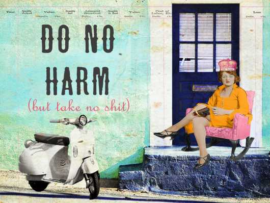 Do No Harm from the Andrea M Design Art Prints collection by Andrea M Designs