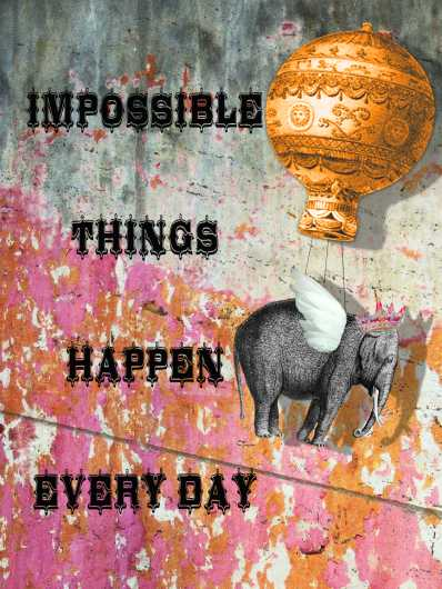 Impossible Things from the Andrea M Design Art Prints collection by Andrea M Designs
