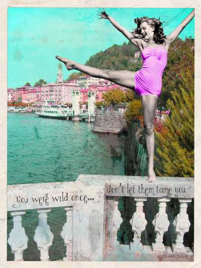 You Were Wild Once from the Andrea M Design Art Prints collection by Andrea M Designs