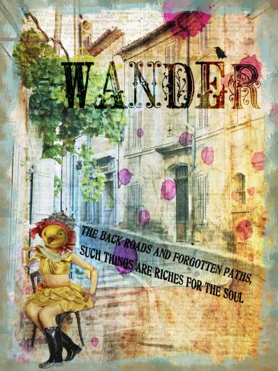 Wander from the Andrea M Design Art Prints collection by Andrea M Designs