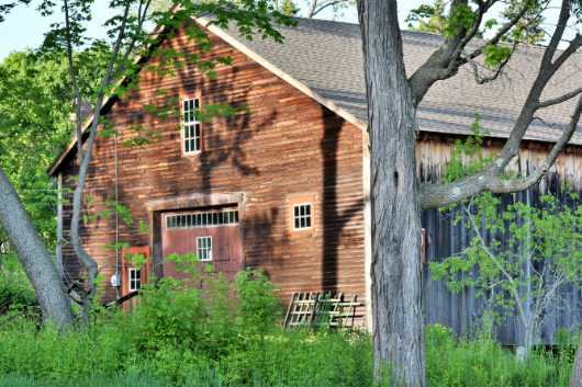 Picnic Barn II, Hollis Street from the Barns collection by jndphoto