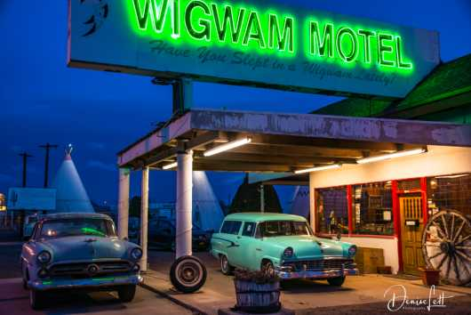 14 Have You Slept in a Wigwam Lately? Wigwam Motel Route 66 Holbrook Arizona from the Route 66 collection by Denise Lett