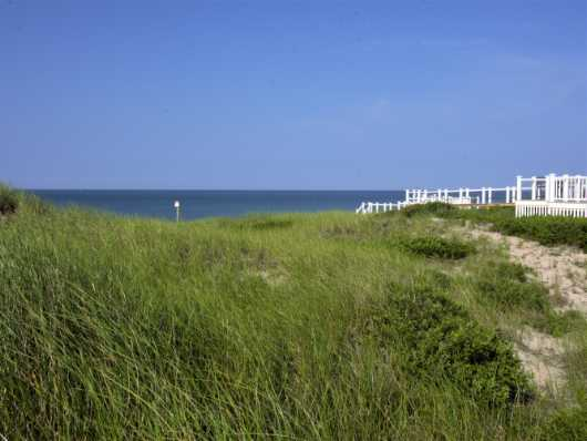 White Walkway Over Dunes in E. Sandwich, MA from the Cape Cod Beach collection by jndphoto