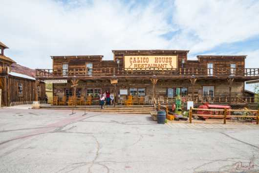 54 Calico House Restaurant Calico Ghost Town Yerma California from the Route 66 collection by Denise Lett