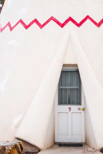 88 Tepee Door Wigwam Village Holbrook Arizona Route 66 from the Route 66 collection by Denise Lett
