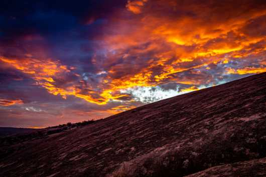 Hill Country Sunset from the Photographic Prints collection by Charles W. Smith Fine Art