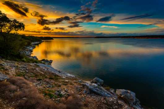 Sunset Reflections from the Photographic Prints collection by Charles W. Smith Fine Art