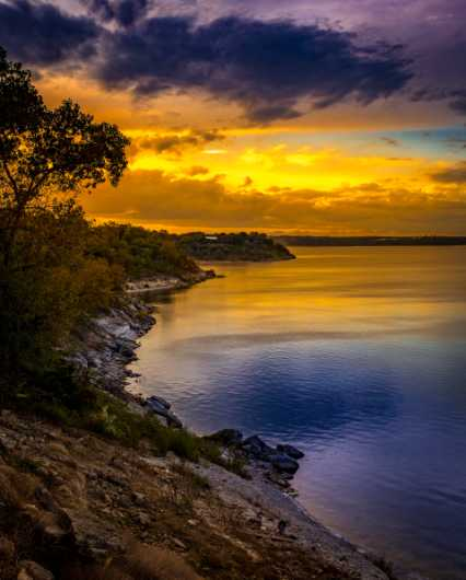 Day's Last Light from the Photographic Prints collection by Charles W. Smith Fine Art