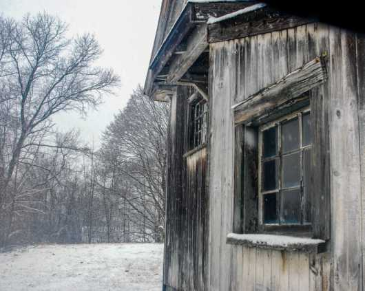 Cold,  Snowy Winters Day II from the Barns collection by jndphoto