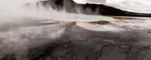 Grand Prismatic Yellowstone from the Travel collection by DoubleF
