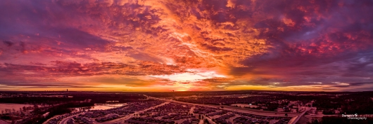 The Pink Sunrise from the DDronegraphy Website Uploads collection by Damon's Droneography