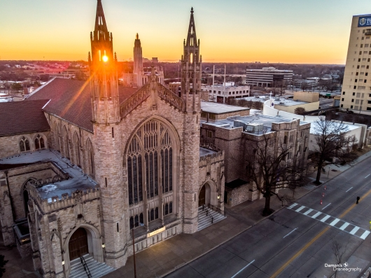 FUMC Sunrise from the DDronegraphy Website Uploads collection by Damon's Droneography