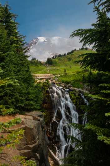 Myrtle Falls from the Sights Of Washington State collection by Domestic Wanderer Photography