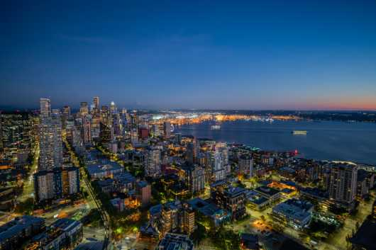 Seattle from the Needle from the Sights Of Washington State collection by Domestic Wanderer Photography