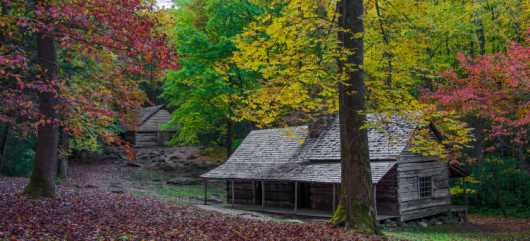 Colors and Cabins from the Parks and Recreation collection by Domestic Wanderer Photography
