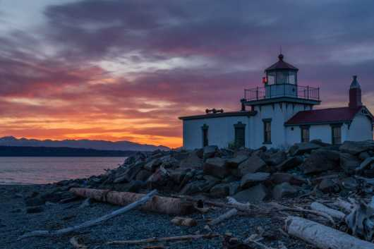 West Point Colors from the Sights Of Washington State collection by Domestic Wanderer Photography