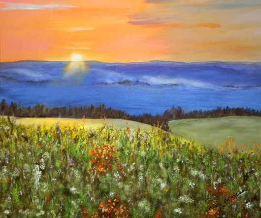 wild_flowers_at_sunrise2.jpg from the Prints for Purchase collection by Don Duncan