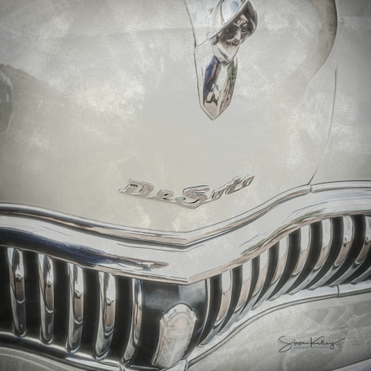 DeSoto from the Trains Planes Automobiles collection by Steve Kelley