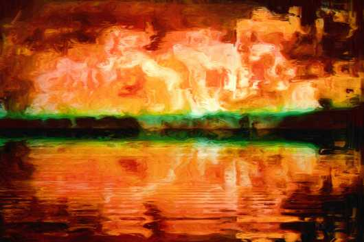 Waterworld 24x36 from the Aleagraphs by Maxwell Kerr collection by Maxwell Kerr
