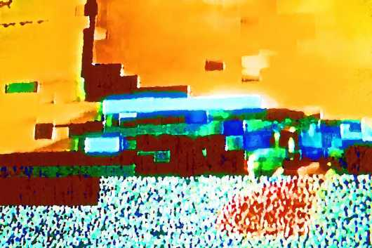 Cyberworld 24x36 from the Aleagraphs by Maxwell Kerr collection by Maxwell Kerr