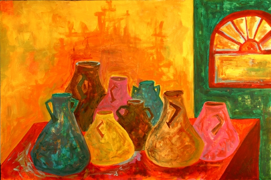 Ancient Jugs from the Prints Collection 1 collection by Mona A. El-Bayoumi