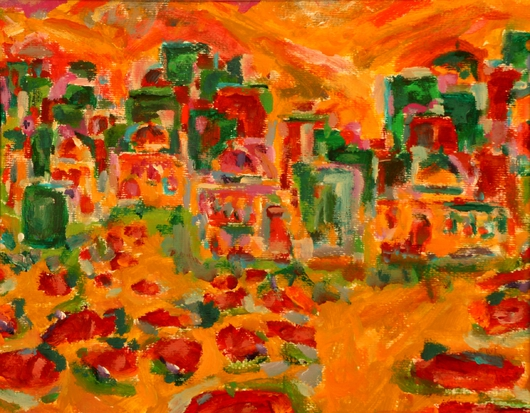 Landscape II from the Prints Collection 1 collection by Mona A. El-Bayoumi