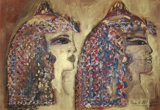 Two Ancient Women from the monaart collection by Mona A. El-Bayoumi