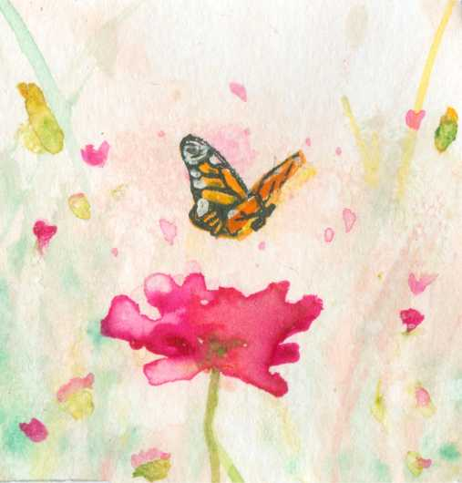 Fluttering Fields from the Robin's Colors Summer Collection collection by Robins Color
